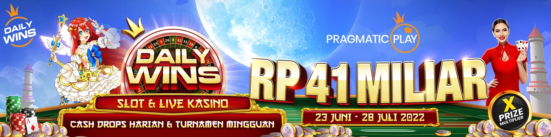 tournament game slot online pragmatic play tahun 2020